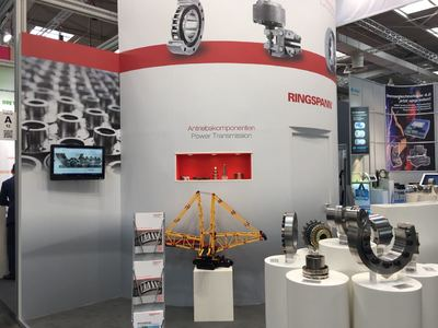 Hannover Messe 2018 - Halle 22, Stand A50 - Ansicht 2