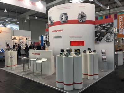 Hannover Messe 2018 - Halle 22, Stand A50 - Ansicht 3