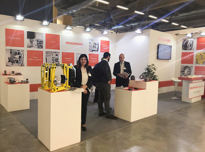 Ringspann Italia at MECSPE 2018 - Hall 5 - Booth G20