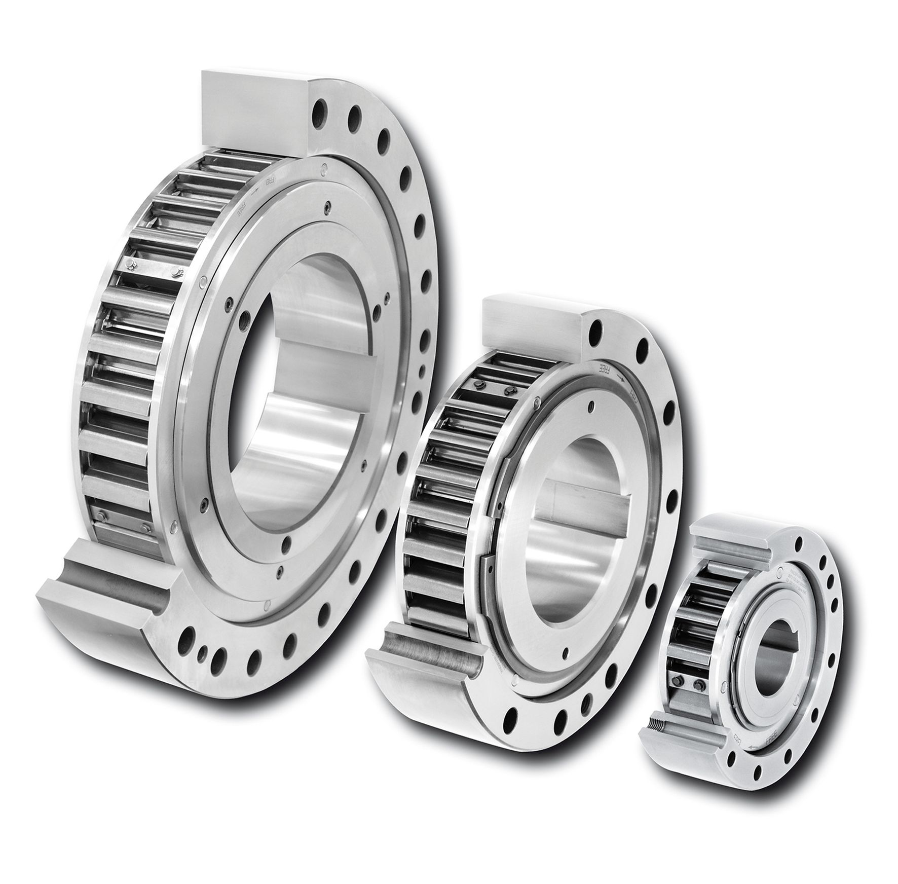integrated freewheels of the FXM series from RINGSPANN
