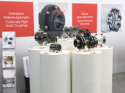 New shaft couplings: Admission of five new coupling types!