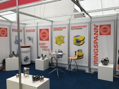 Friendly and welcoming | Our booth at Hillhead 2018